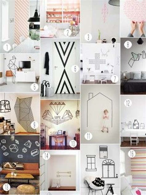 Excelente Ideas Para Colgar Fotos Habitacion #2: 5-washi-tape.jpg?b1a01d
