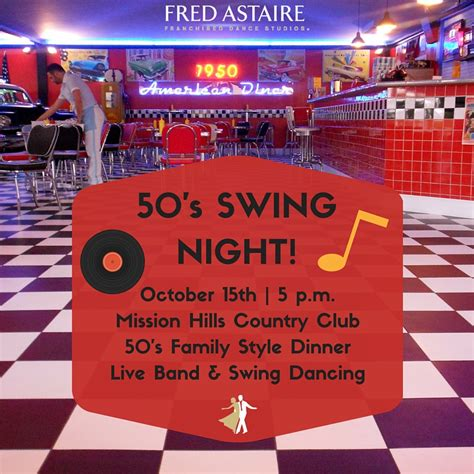 swing night join us 50 s swing night northbrook