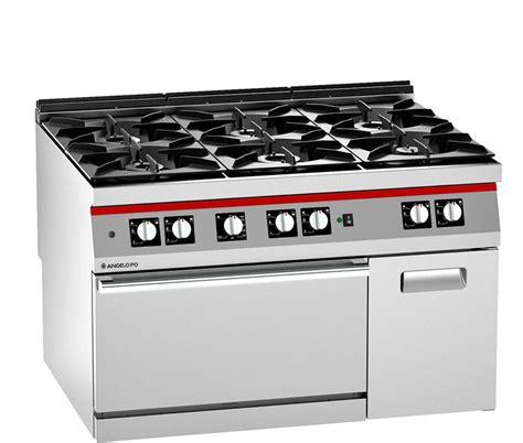 cucina a gas con forno a gas ventilato cucina gas 6 fuochi forno a gas pluri ventilato e vano