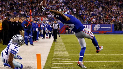 The Science Of Odell Beckham Jrs Incredible Onehanded Td Catch 2014 | the science of odell beckham jr s incredible one handed