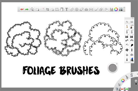 sketchbook pro mobomarket foliage brushes for sketchbook pro brushes on creative