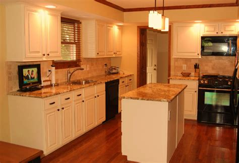 white kitchen cabinets with wood trim quicua