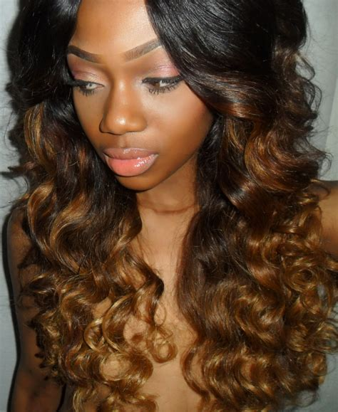 ombre styles for black women coverup by selorm ombre hairstyle dark roots light ends