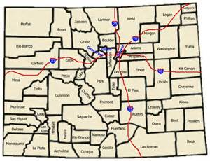 map of cities and towns in colorado trips we and ghost towns on