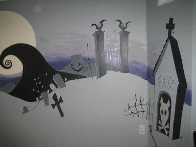 nightmare before wall mural artspace the nightmare before mural