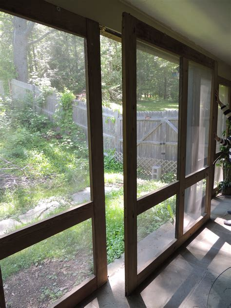 removable windows for screened porch easy to make screened in porch hudson cabinet
