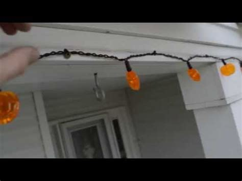 attach holiday lights to steel siding with magnets youtube