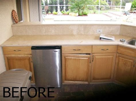 kitchen cabinets sarasota fl outdoor kitchens and outdoor cabinets before to after