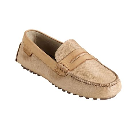 cole haan driving shoes cole haan air grant driving moccasins in beige for