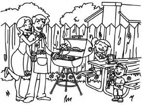 Backyard Page 4th Of July Coloring Pages Best Coloring Pages For