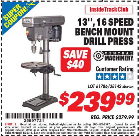 harbor freight bench press harbor freight bench press harbor freight tools coupon
