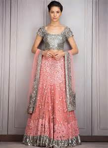 silver and pink lehenga with mirror amp sequin work