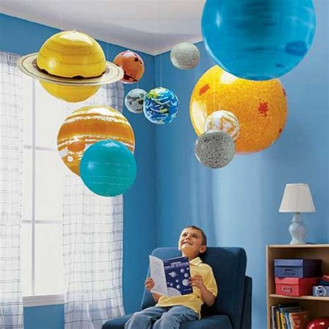 planet bedroom ideas inflatable solar system sciencedump now that s really