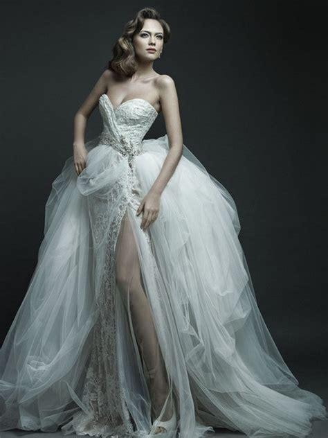 imagenes de vestidos de novia sexis vestidos para bodas muy elegantes y sexys trends fashion