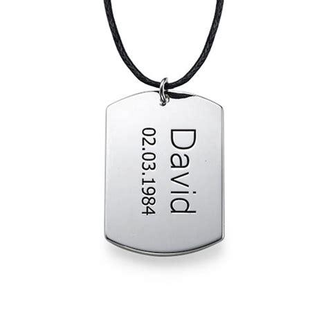 chapas militares panama collar identificaci 243 n de plata para hombre micollarconnombre