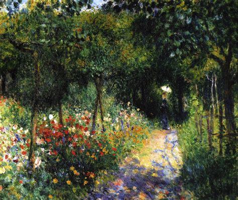 ladaires jardin flores y palabras renoir mujer en el jard 237 n