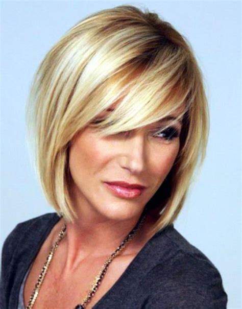 Hairstyles For Age 50 by Best Medium Hairstyles For 50 Hairstyle
