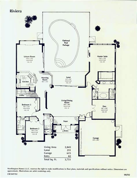 Floor Plans Florida by Southwest Florida Florida Style Custom Homes