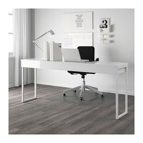 besta burs white desk best 197 burs desk high gloss white pinterest bureau