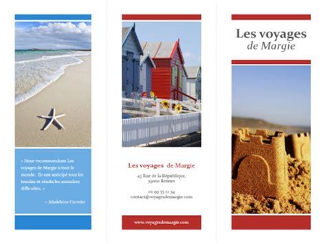 brochure templates new york brochure de voyage en trois parties rouge or et bleu