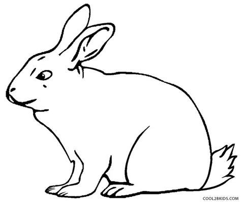 rabbit coloring page printable printable rabbit coloring pages for kids cool2bkids