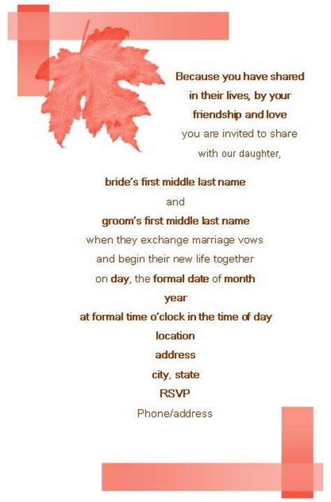 Wedding Invitation Letter In Word Format Wedding Invitation Verses Wedding Invitation Wording Templates 23 Wedding Stuff