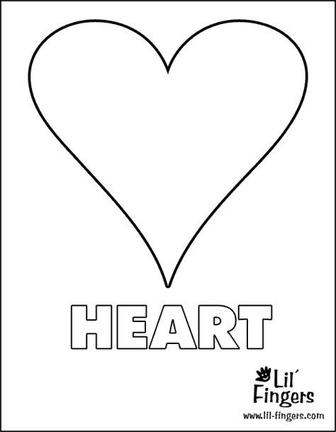 heart coloring pages preschool trace heart shape coloring pages