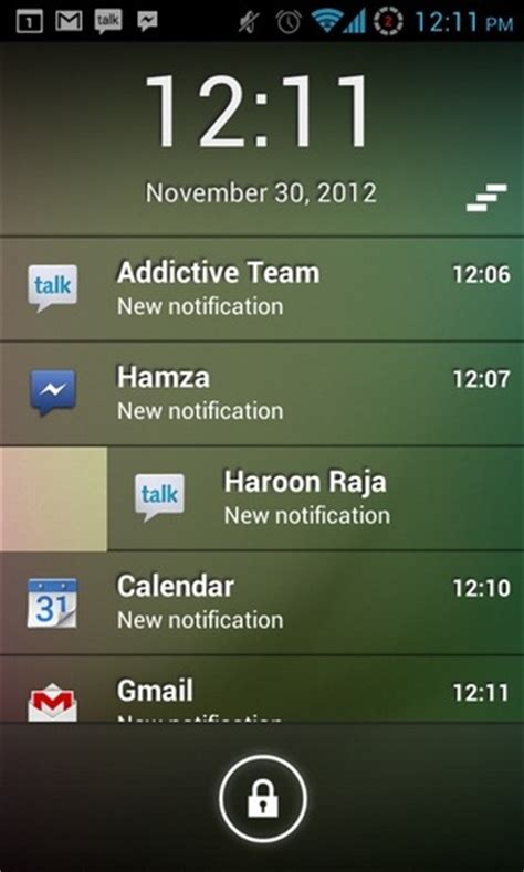 android lock screen notifications get iphone style lock screen notifications on android with lockerpro