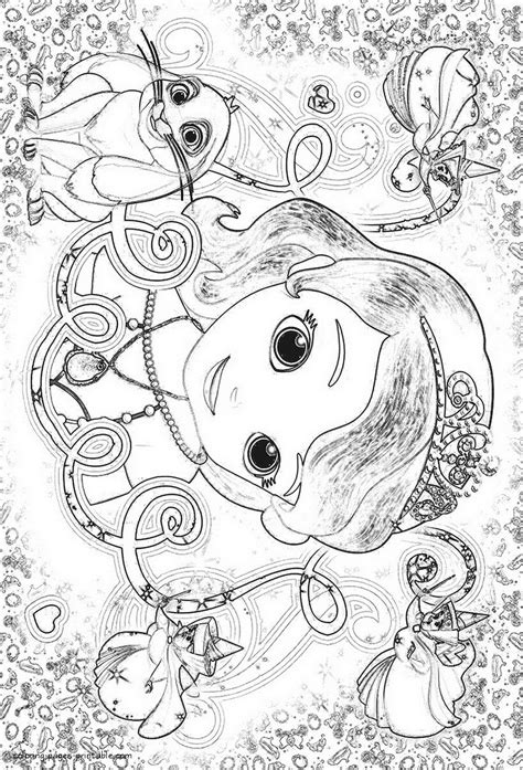 sofia the coloring pages sofia the coloring pages to print