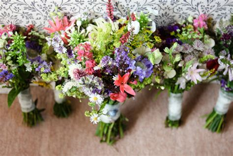 September Wedding Flowers by And Laurie S Picnic Wedding In Shropshire