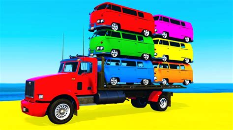 childrens truck color on truck and cars for colors
