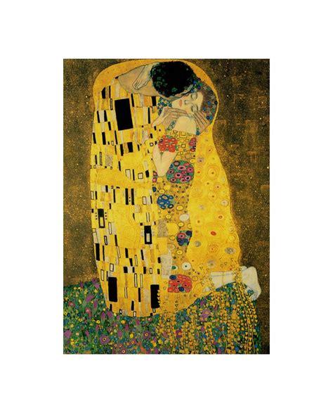 el cuadro el beso gustav klimt el beso the kiss cuadro de impresionismo