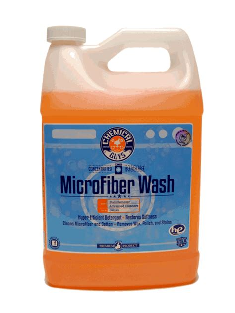 Best Microfiber Cleaner by Chemical Guys Microfiber Wash Microfiber Cleaning