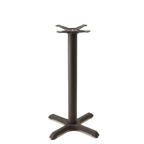 b22 black table base counter height 34 3 4 quot tablebases quality table bases metal
