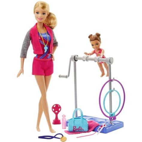 Sale Nano Dolls 6605b Semprem gymnastic coach doll and playset walmart
