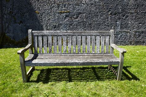 vintage garden bench vintage wooden garden bench stock photo image 27226362