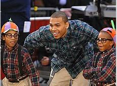 Chris Brown And His Little Brother