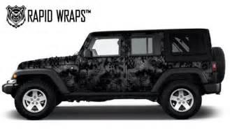 Wraps For Jeep Wrangler 2013 Jeep Wrangler Kryptek Typhon Vinyl Wrap By Quot Rapid