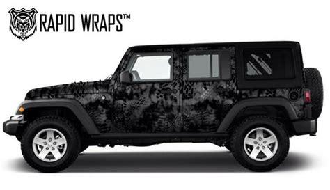 Jeep Vinyl Wrap 2013 Jeep Wrangler Kryptek Typhon Vinyl Wrap By Quot Rapid