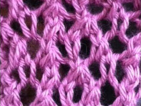 spider stitch knitting spider stitch