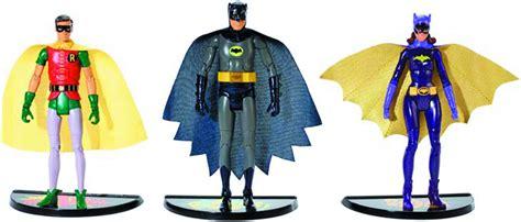 Figure Batman Set 4 1966 batman tv series figure 3 pack set batman robin and batgirl