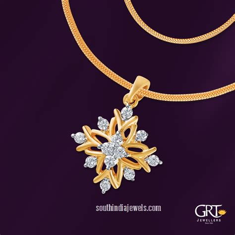 22 Carat Gold Chain Model From Grt Jewellers South India