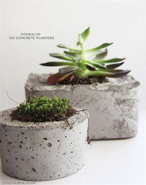 do it yourself just like that diy concrete planters