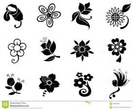 Kitchen Knife Collection fantasy flower silhouette silhouette collection se stock