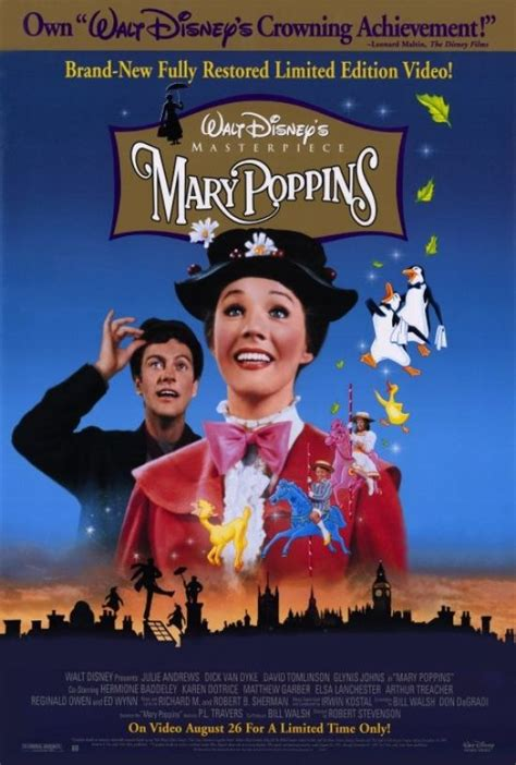 mary poppins film wikipedia the free encyclopedia mary poppins movie poster print 27 x 40 item