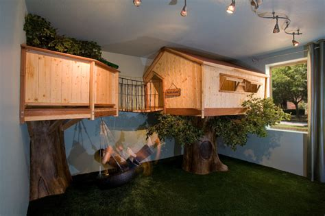 tree house bedroom kid s treehouse bedroom traditional kids phoenix