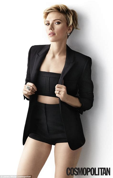 scarlett johansson sizzles in fashions for cosmo as