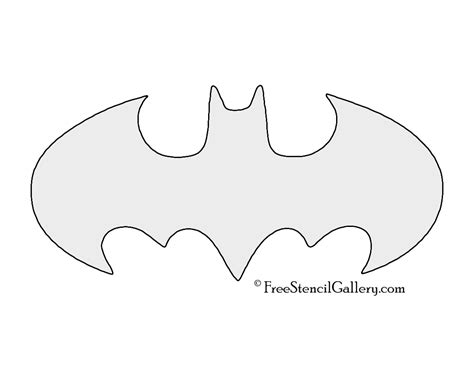 batman symbol template pin printable batman symbol template on
