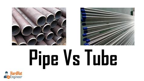 Pipe Tub what is the difference between pipe and pipe vs