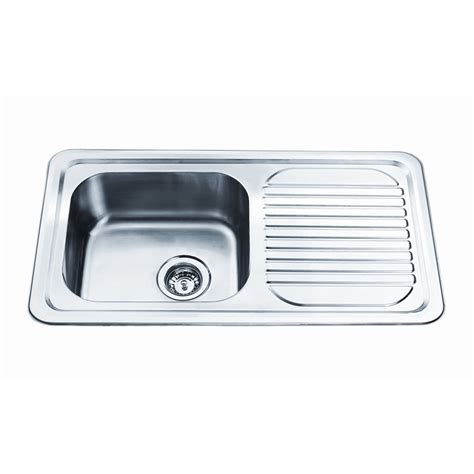 Bunnings Kitchen Sink Bunnings Kitchen Sink Squareline 1080 Kitchen Sink With 1 3 4 Bowl And Drainer I N 5090135